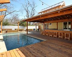 HausBar Farm contemporary-pool