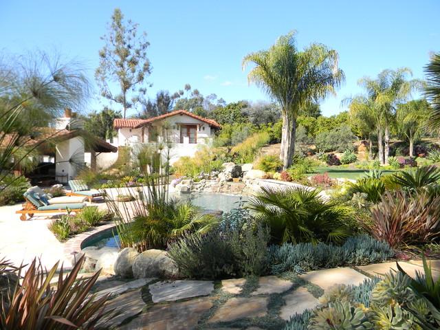 Haute hacienda mediterranean pool san diego by for Pool design hamilton