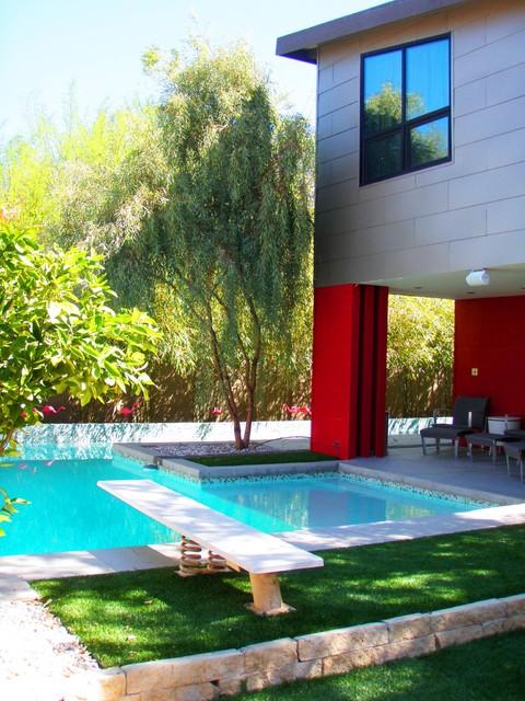 Haver House midcentury-pool