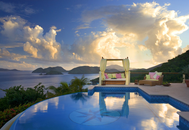 Hawksview, St. John, USVI tropical pool