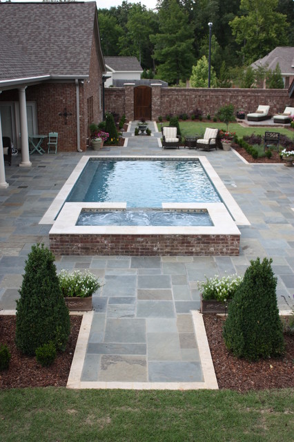 Henry Residence traditional-pool