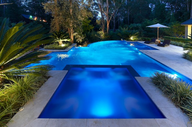 Hidden Valley contemporary-pool