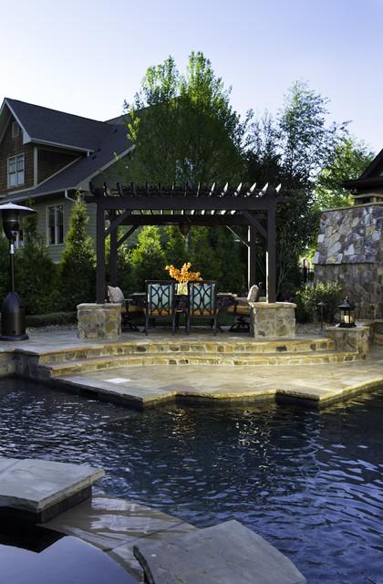 High Grove, Charlotte, NC traditional-pool