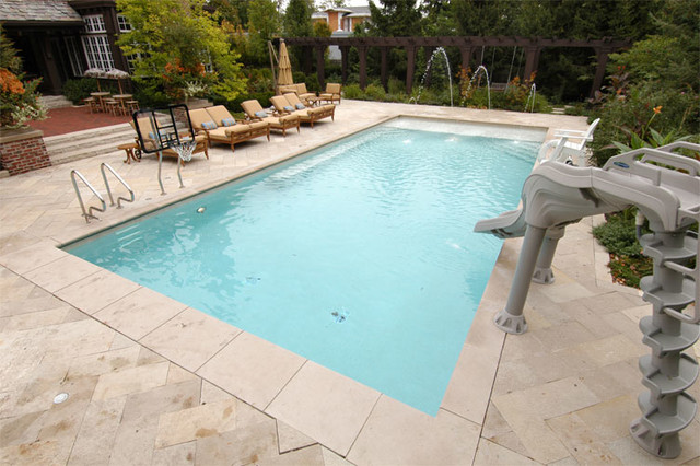 Highland Park Il Swimming Pool Traditional Pool Chicago By Platinum Poolcare