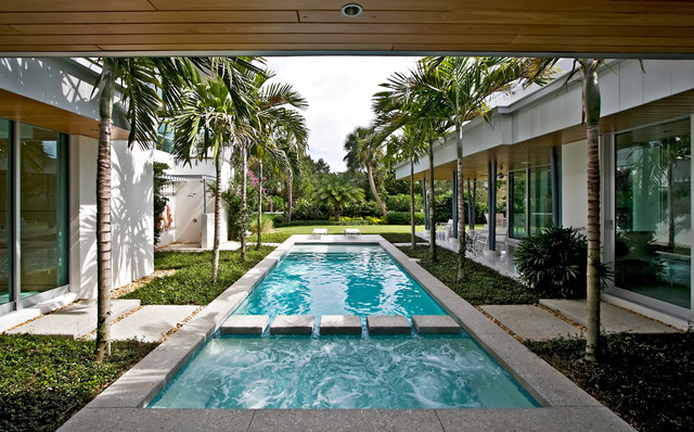 Hillcrest contemporary-pool