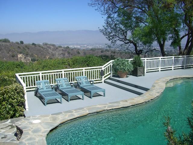 Hillside pool for Pool design hillside