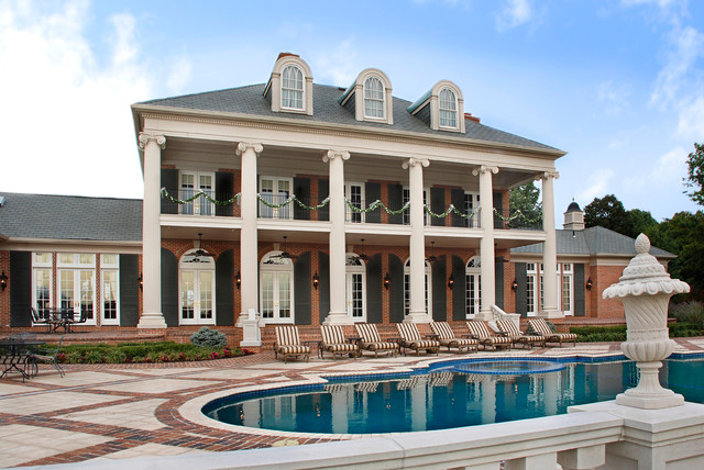 Hilltop Estate Traditional Pool Kansas City By