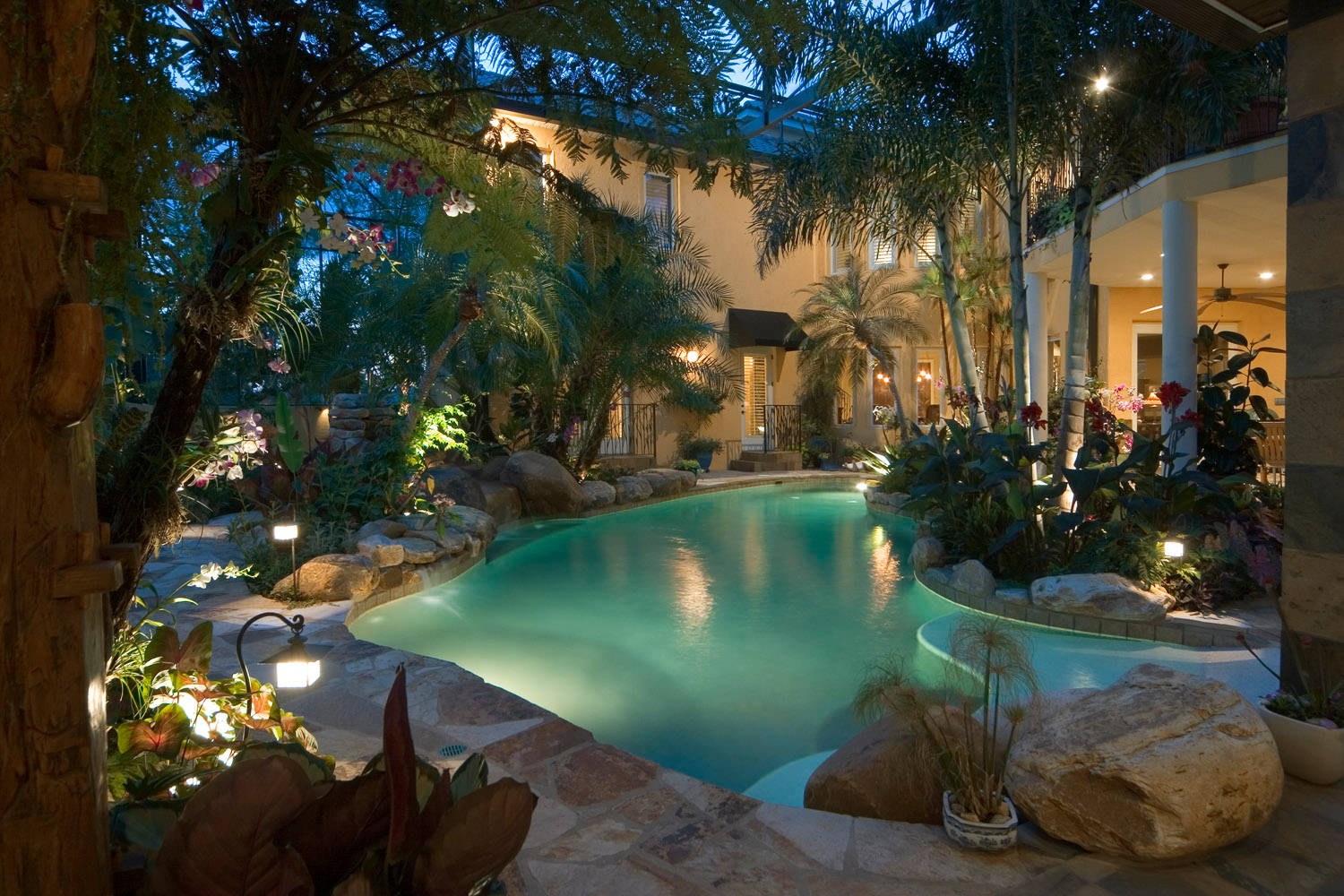 75 Beautiful Tropical Pool Pictures Ideas March 2021 Houzz