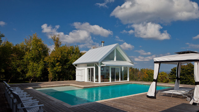 Hockley Valley Home farmhouse-pool