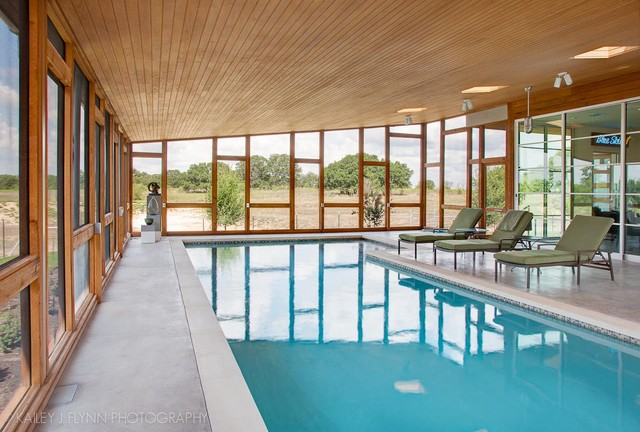 Hoffman Residence contemporary-pool