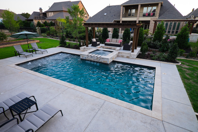 Holder Pool Dallas By Klapprodt Pools