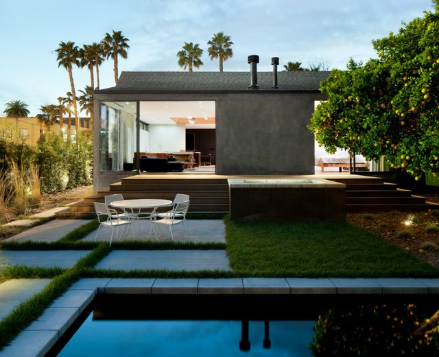 Hollywood Bungalow Modern Pool Los Angeles By