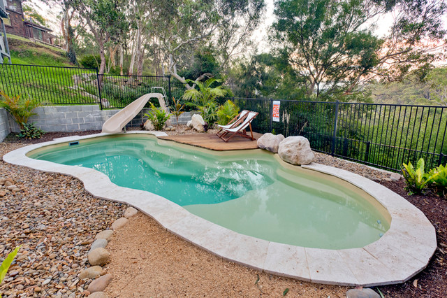 Hornsby Heights 9m Rockpool Tropical Pool Sydney
