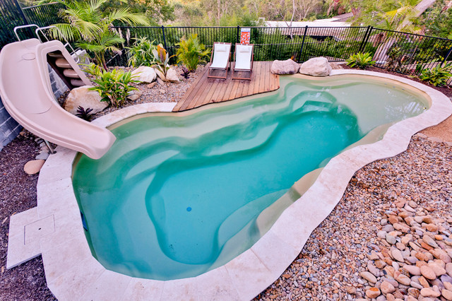 Hornsby Heights 9m Rockpool Beach Style Pool Sydney