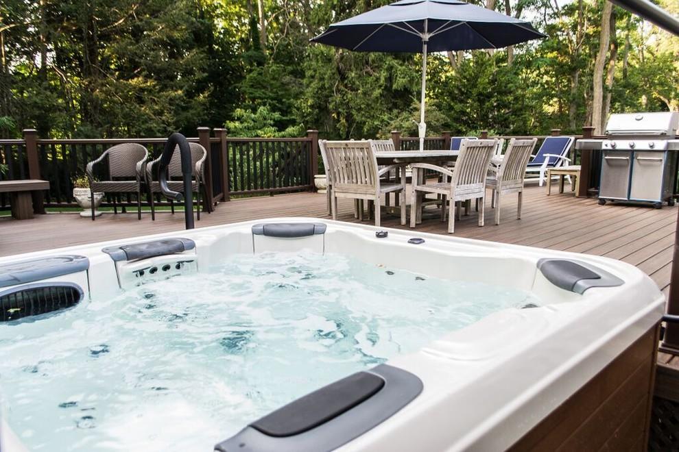 Hot Tub Deck Installation (Long Island/NY): - Pool - New ...