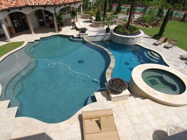 Houston house for Pool design houston