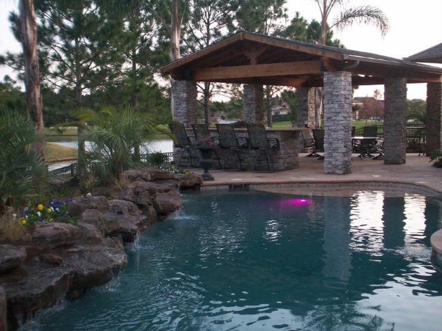 Houston Project traditional-pool