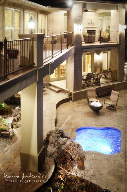 Hughes Design and Construction, Inc traditional-pool