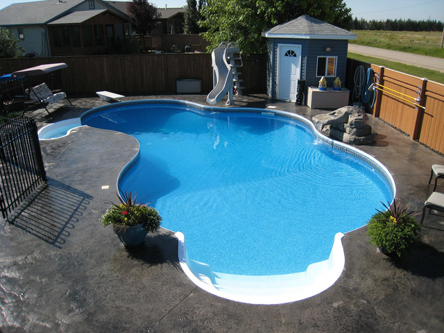 Humpback kidney pool design tropical pool other for Pool design 101