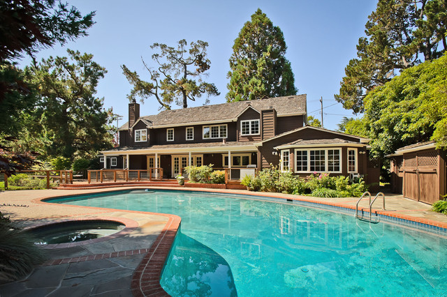 Hurlingham Avenue traditional-pool