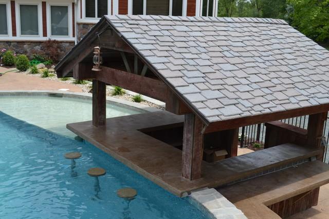 Hybrid Swimming Pool {HOF} traditional-pool