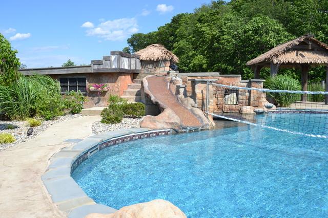 Hybrid Swimming Pool {PLO} tropical-pool