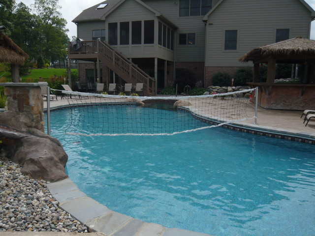 Hybrid swimming pool plo tropical pool detroit for Swimming pool poker