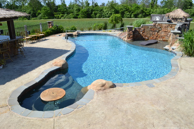 Hybrid Swimming Pool Plo Tropical Pool Detroit