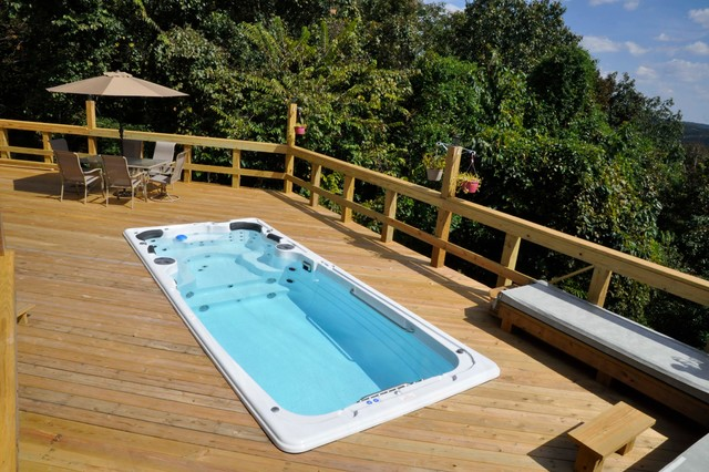 Spa pool  Hydropool Swim Spa - Pool - Other - by Outdoor Rooms by Design