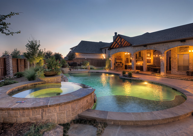 Ilseworth Residence Traditional Pool Dallas By Aquaterra Outdoors