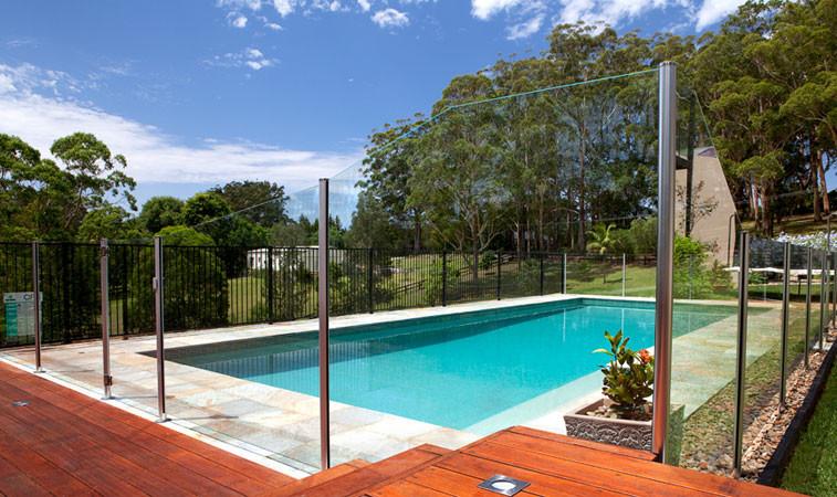 Trendy pool photo in Sydney