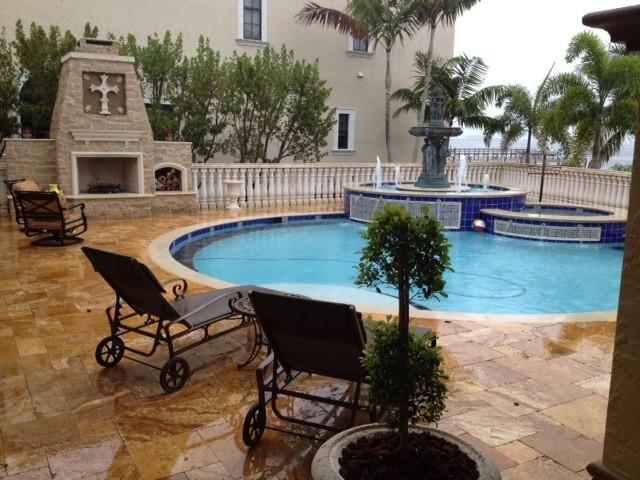 In-ground pools & spa pool