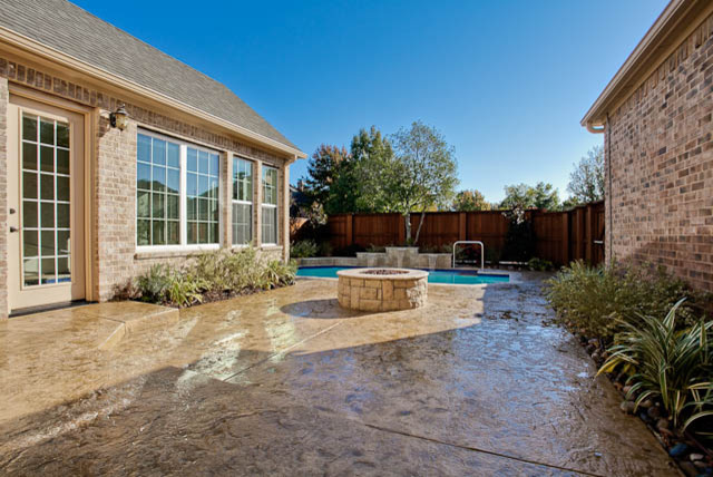 Indoor and Outdoor Pool traditional-pool