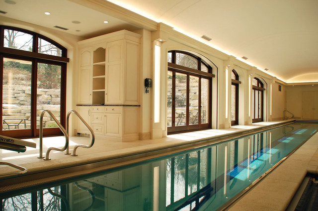 Indoor Lap Pool-Highland Park - Traditional - Pool - Chicago - by ...