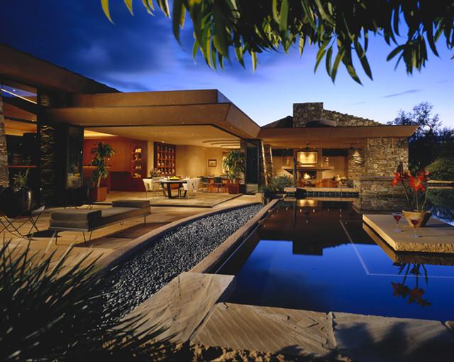 Indoor/Outdoor Space contemporary-pool