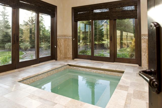 Indoor Spa - Traditional - Swimming Pool & Hot Tub - Minneapolis ...