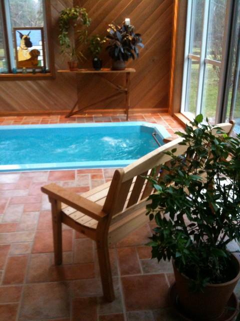 Indoor swim spas contemporary pool toronto by for Swimmingpool aufstellbecken pool