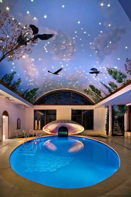 Indoor Swimming Pool traditional pool