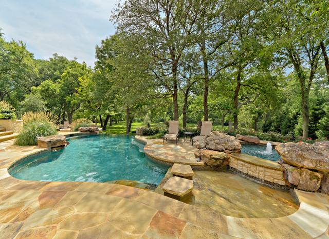 Infinity Edge Pools traditional-pool