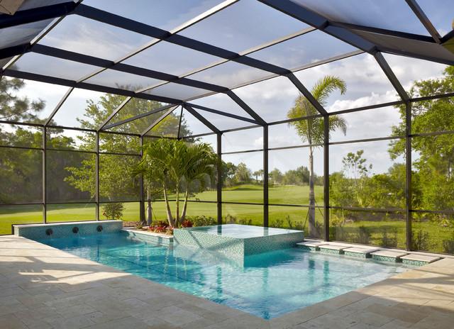 Infinity Edge Spa Transitional Swimming Pool Amp Hot Tub