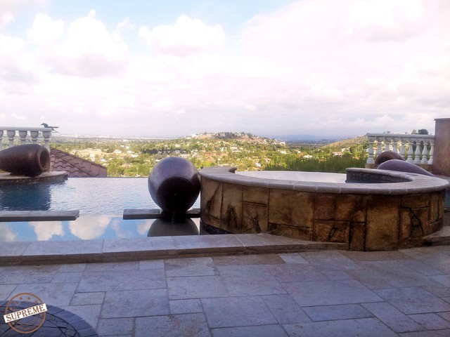 Hillside Construction Swimming Pool And Hot Tub Los Angeles By Supreme Remodeling Inc