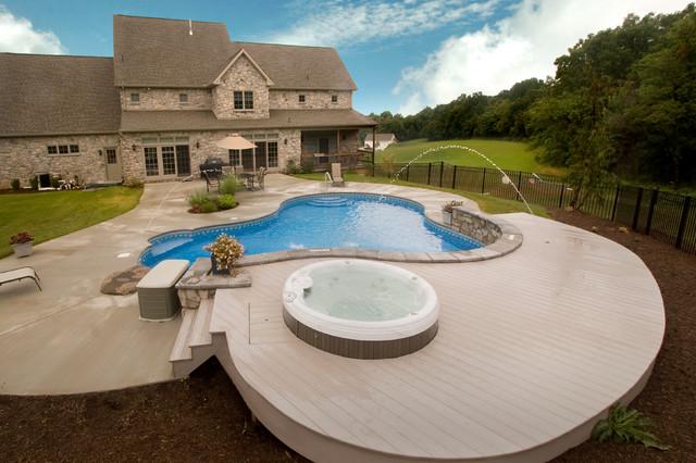 Inground Pools traditional-pool