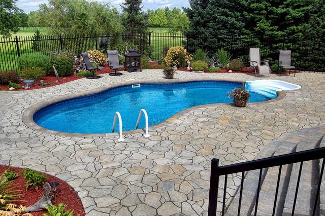 Inground pools for Pool design ottawa