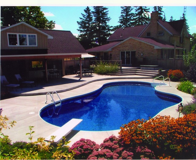Inground swimming pool projects traditional pool new york by central jersey pools for Inground swimming pools new jersey