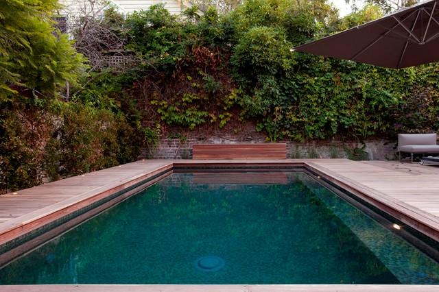 Inner City Reno contemporary-pool