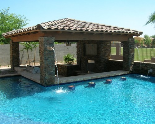 Install an Inviting Great Swim Up bar Design Fornerlavoy