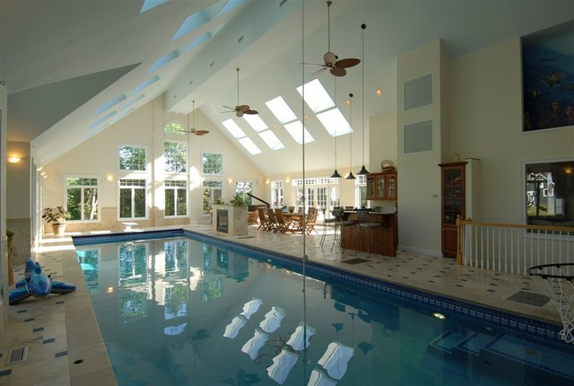 Interiors modern-pool