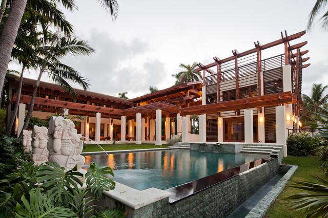 Island Residence tropical-pool