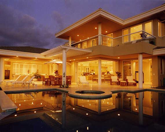 Island Retreat contemporary-pool