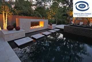 Jacksonville contemporary contemporary pool for Pool design jacksonville fl